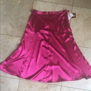 NWT Michael Kors Silk skirt